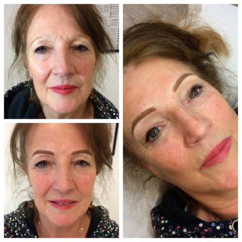 eyebrow eyebrows brows makeup artist micropigmentation ossett wakefield yorkshire semi permanent tattoo hdbrows microblade