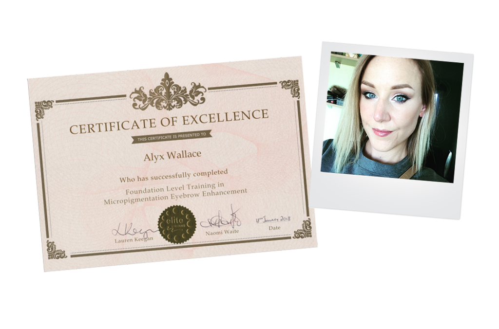Alyx elite colours eyebrow enhancement training micropigmentation