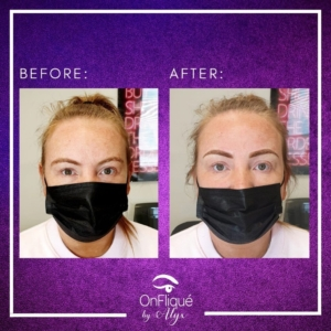Before & After 👏  These brows were beautiful and full before, so by using the powder ombre effect I have given them shape, definition and that extra oomph!  Follow @onfliquebyalyx on Instagram for more 🎉 . . . #eyebrowshading #ombrébrows #spmu #spmubrows #spmuartist #ombrèbrows #spmulips #ombrebrowshading #spmutraining #spmubrows❤️ #spmumanchester #spmueyebrows #spmulondon #ombrebrowslondon #ombrebrowsuk #nanobrowspmu #permanentmakeupartist #microbladingbrows #microbladingtraining #combobrows #naturalbrows #browtattoo #hairstrokes #browshape #browspecialist #permanentbrows #semipermanentbrows #newbrows #browlife #combinationbrows